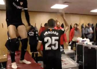 Sevilla celebrate United win with a rival baiting chant