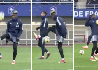 Pogba all flicks and tricks on France duty