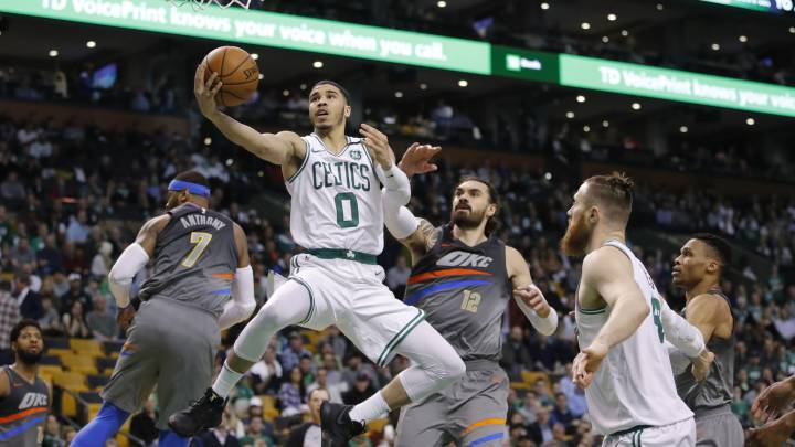 Sorprendente remontada de los Celtics; Houston sigue sumando