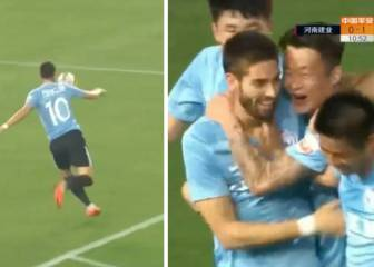 Carrasco off the mark in style in China with exquisite volley