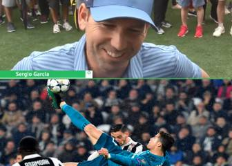 Cristiano's overhead kick was 'totally awesome' - Sergio Garcia