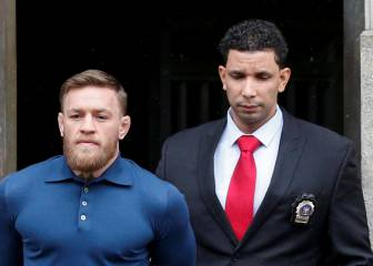 Conor McGregor leaves court house in cuffs