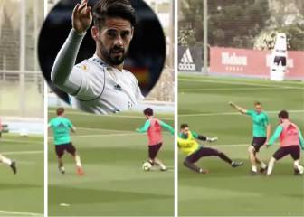 Isco unleashed destroys two teammates, finishes with ease