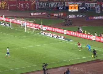 Guangzhou fail to capitalise on comical goalkeeper error