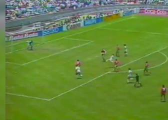 Negrete volley for Mexico voted World Cup's best ever goal