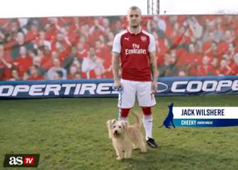 Arsenal stars take the lead in dog training challenge