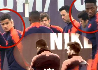 Messi and Suárez keep disgruntled Barça team-mates waiting