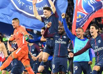 PSG's record title win in numbers