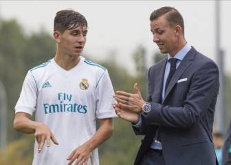 César Gelabert, making waves with Guti's Under-19s