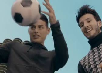 James Rodríguez, star of the latest Gianluca Vacchi clip