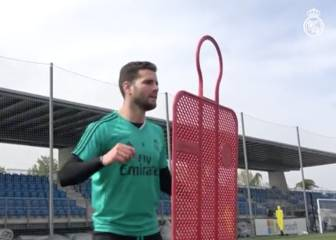 Real Madrid prepare for Bayern clash - without Nacho