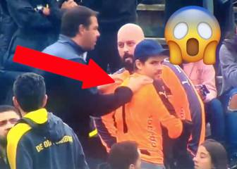 Peñarol fan becomes unexpected protagonist after lending 'keeper a shirt