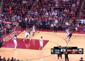 La clase magistral de triples de Chris Paul: puro espectáculo