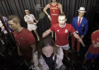 BOO! Gareth Bale comes to life at Madrid waxworks museum