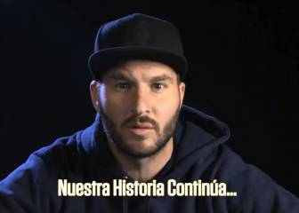 Gignac, en el video motivacional del Marsella