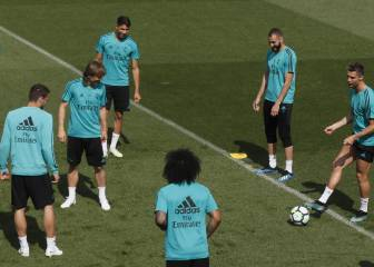 Real Madrid train for final time before Villarreal clash