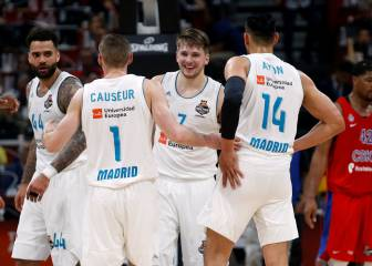 El Madrid funde al CSKA a base triples y se mete en la final
