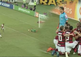Vinicius Junior scores, shines for Flamengo in Rio derby draw