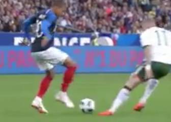 Mbappé leaves mouths gaping with amazing piece of skill