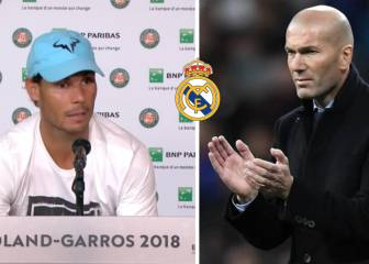 Nadal sad to see Zidane go: