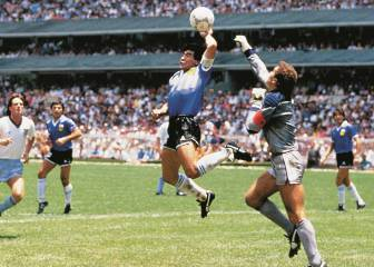 World Cup countdown - Maradona's seven heavenly handballs