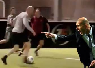 Zidane eases into holiday spirit with trademark roulette