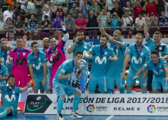 Inter Movistar keep a cool head to lift 13th title from the spot