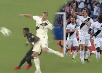 Ibrahimovic scores fine volley in LA Galaxy draw with DC United