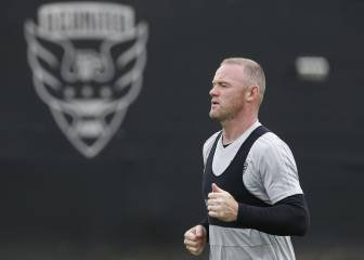 Wayne Rooney trains with DC United ahead of MLS debut