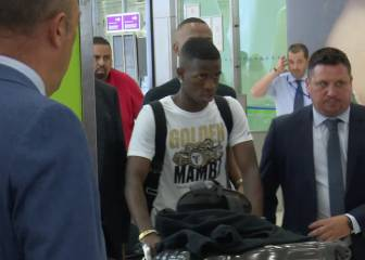 Vinicius has arrived in Madrid