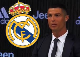 Little love for Real Madrid from Cristiano Ronaldo at Juventus presentation