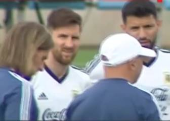 Messi a Sampaoli: