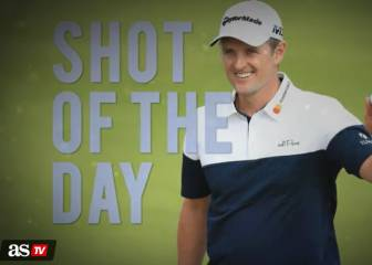 Shot of the day: Rose hits pin in a near albatross approach
