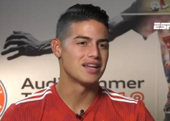 James shows diplomacy when asked about Madrid and referees