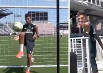 Real Madrid's Ceballos scores ridiculous trickshot goal