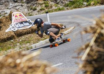 Red Bull No Paws Down: carreras de longboard downhill a 80km/h