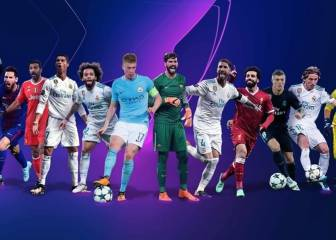 The 12 men up for 2017/18 Champions League awards