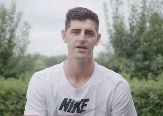 Courtois thanks Chelsea with heartfelt message