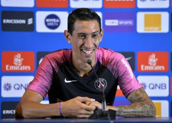 PSG stars do get along - Di María