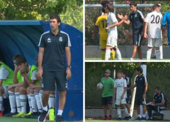 Nerves, emotion and goals: Raúl's first game as a coach