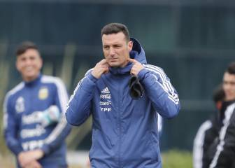 Argentina coach Scaloni unsure over Messi's international future