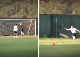 Quaresma catches Karius off guard with trademark 'rabona'