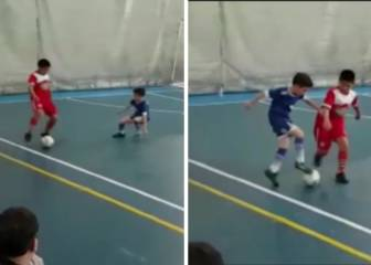 Sweet revenge! Nutmegger becomes the nutmegged