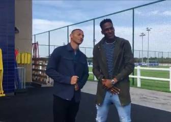 Yerry Mina y Richarlison, la pareja show del Everton
