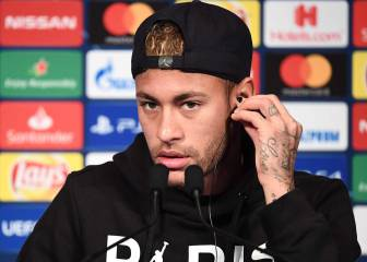Neymar admits he's not fully fit