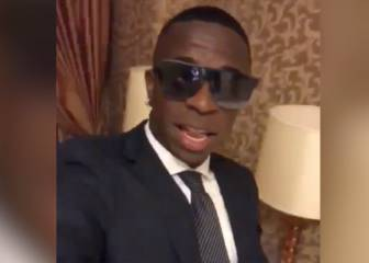 Official: Vinicius can't sing