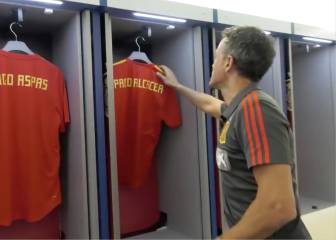 Luis Enrique's original way of announcing his Spain squad list