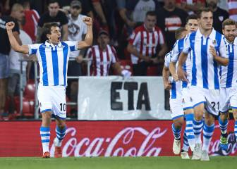 Real Sociedad vence al Athletic en el derbi vasco