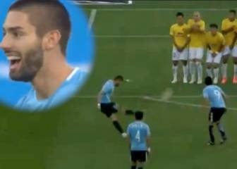 Former Atlético man Carrasco cracks in fine free-kick in CSL