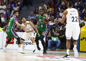 El Madrid reacciona al final y tumba a Unicaja